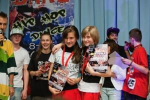 Таня Макаренко(слева) — 3 года в Соревновательной группе «Драйв»